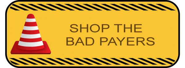 shop the bad payers