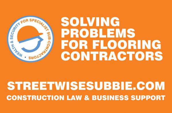 solving contractual problems for flooring contractors at cfj expo live.
